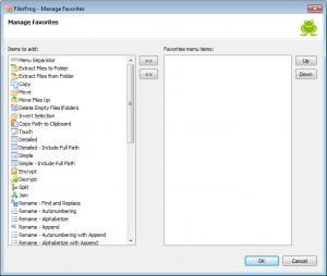 Enlarge FilerFrog Screenshot