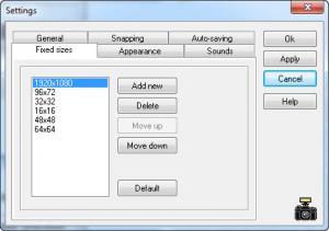 Enlarge MWSnap Screenshot