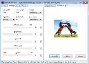 Enlarge Easy  Thumbnails Screenshot