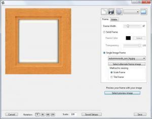 Enlarge DropFrame Screenshot