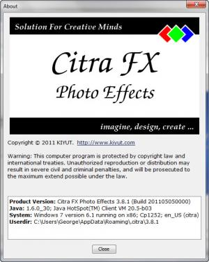 Enlarge Citra FX Photo Effects Screenshot