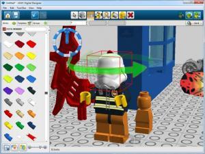Enlarge LEGO Digital  Designer Screenshot