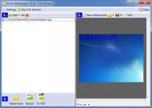 Enlarge Visual Watermark Screenshot