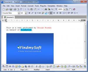 Enlarge PolyEdit Screenshot