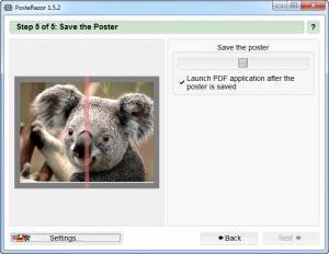 Enlarge PosteRazor Screenshot