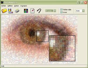 Enlarge PhotoMosaique Screenshot
