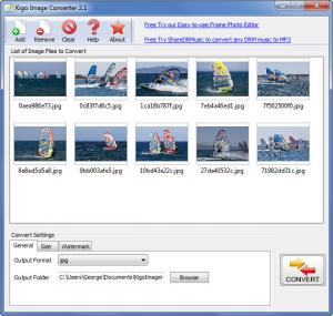 Enlarge Kigo Image Converter Screenshot