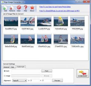Enlarge Kigo Image Converter Screenshot