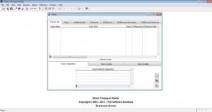 Enlarge Music Catalogue Master Screenshot