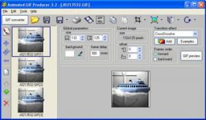 Enlarge Animated GIF Producer Screenshot