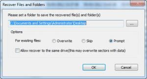 Enlarge Easy Data Recovery Screenshot