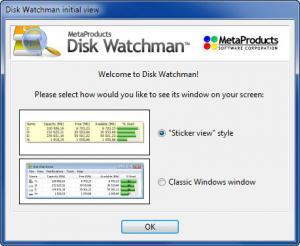 Enlarge Disk Watchman Screenshot