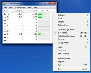 Enlarge Disk Watchman Screenshot