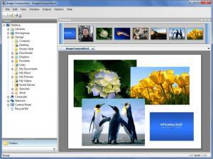 Enlarge Image Composition Screenshot