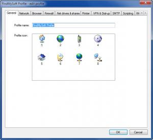 Enlarge Network Switcher Screenshot