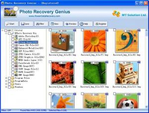 Enlarge Photo Recovery Genius Screenshot