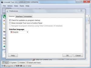 Enlarge Uninstall  Tool Screenshot