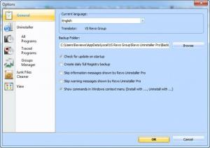 Enlarge Revo Uninstaller Screenshot