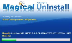 Enlarge Ashampoo Magical  UnInstall Screenshot