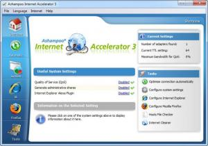 Enlarge Ashampoo Internet  Accelerator Screenshot