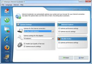 Enlarge Ashampoo Internet  Accelerator Screenshot