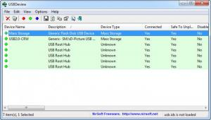 Enlarge  USBDeview Screenshot