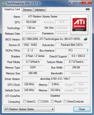 Enlarge TechPowerUp GPU-Z Screenshot