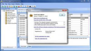 Enlarge Event Log  Explorer Screenshot