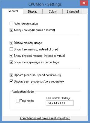 Enlarge CPUMon Screenshot