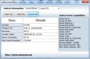 Enlarge Drive  Manager Screenshot