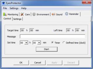 Enlarge EyesProtector Screenshot