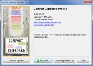 Enlarge Comfort  Clipboard Pro Screenshot