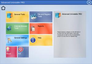 Enlarge Advanced Uninstaller  PRO Screenshot