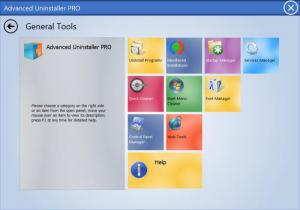Enlarge Advanced Uninstaller  PRO Screenshot