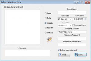 Enlarge InSync Screenshot