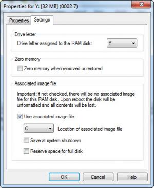 Enlarge RamDisk  Plus Screenshot