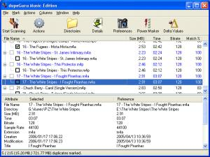 Enlarge dupeGuru Music  Edition Screenshot