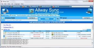 Enlarge Allway  Sync Screenshot
