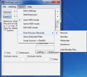 Enlarge FastCopy Screenshot