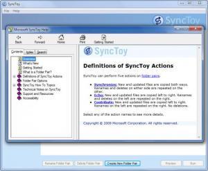 Enlarge SyncToy Screenshot