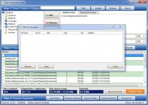 Enlarge Easy Duplicate Finder Screenshot