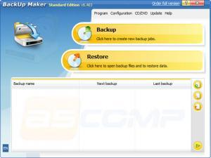 Enlarge BackUp  Maker Screenshot
