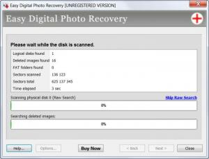Enlarge Easy Digital Photo  Recovery Screenshot