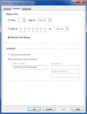 Enlarge Safe Data Backup Screenshot