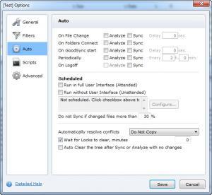 Enlarge GoodSync Screenshot