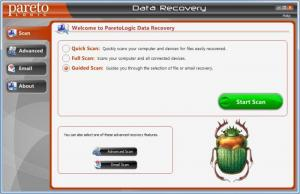 Enlarge ParetoLogic Data  Recovery Screenshot
