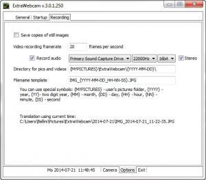 Enlarge ExtraWebcam Screenshot