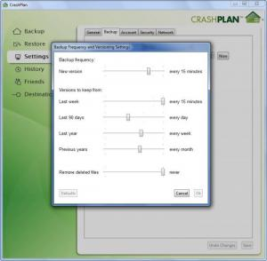 Enlarge CrashPlan Screenshot