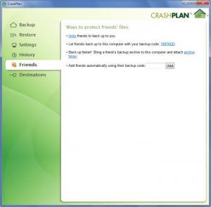 Enlarge CrashPlan Screenshot
