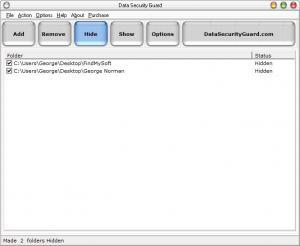 Enlarge Data Security Guard Screenshot